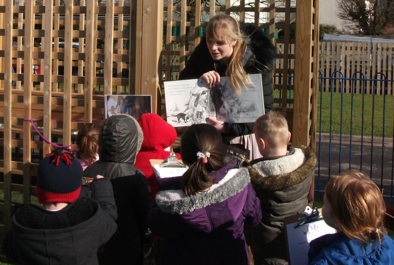 Photo: Nursery storytelling