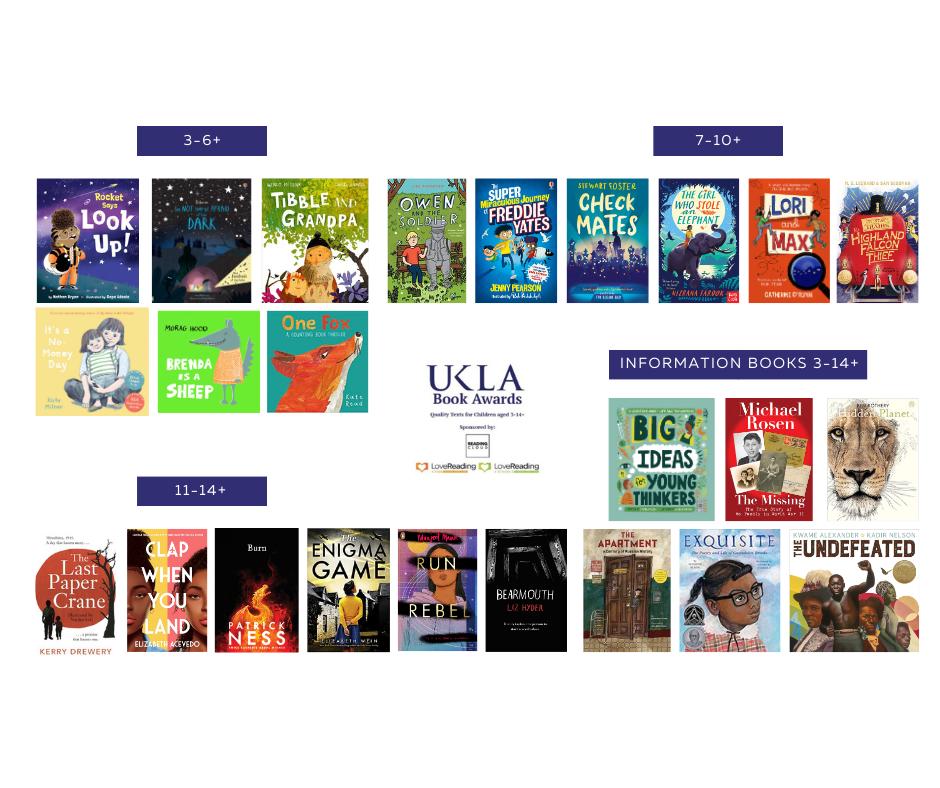 Photo: UKLA Book Awards 2021 Shortlists