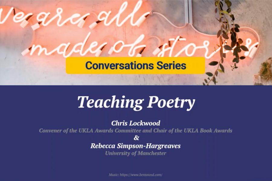 Conversation Series - Teaching Poetry