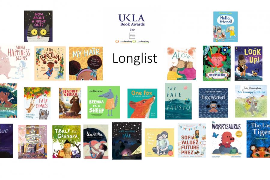 UKLA Book Awards 2021 Longlists