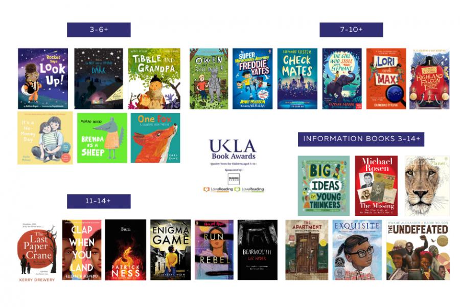 UKLA Book Awards Shortlists Twitter 2021 site news image